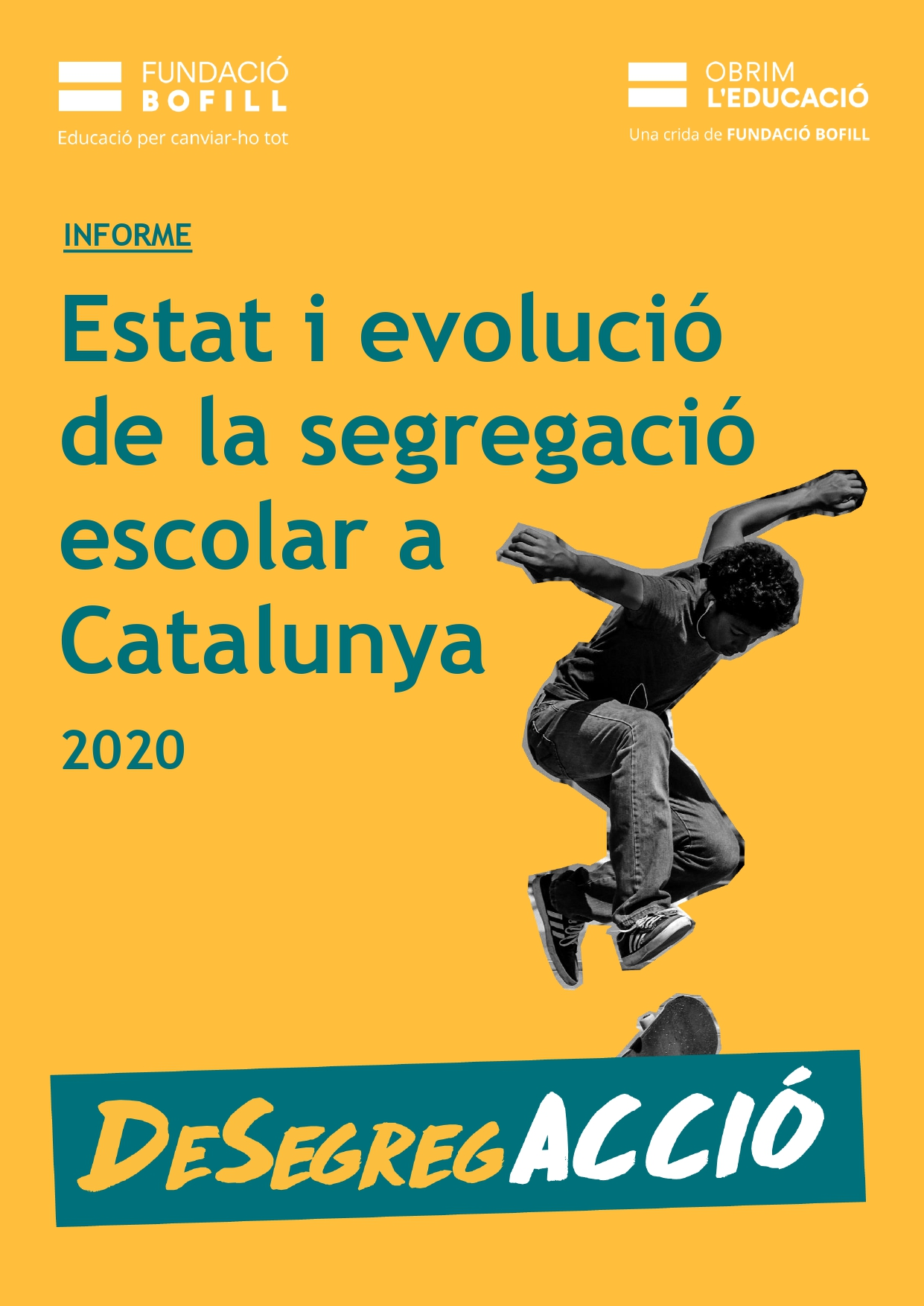 Informe - Estat i evolució de la segregació escolar a Catalunya